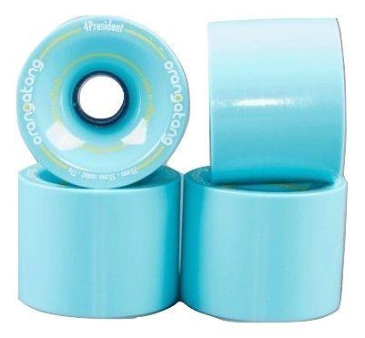 Roda Orangatang 4PRESIDENT Azul 70mm 77a