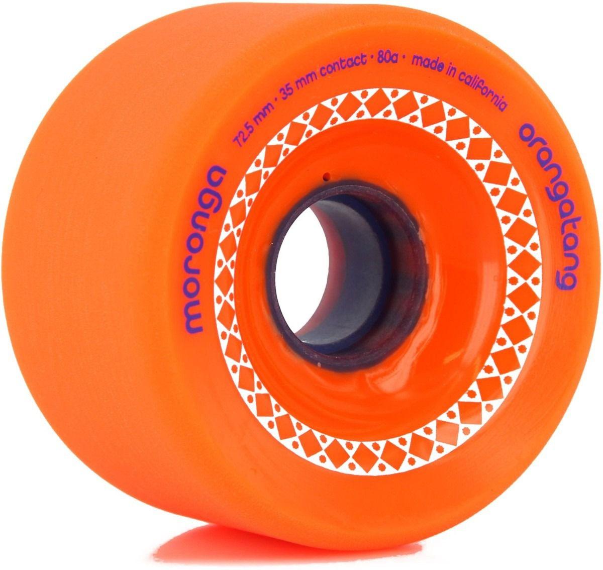 Roda Orangatang MORONGA Laranja 72,5mm 80a
