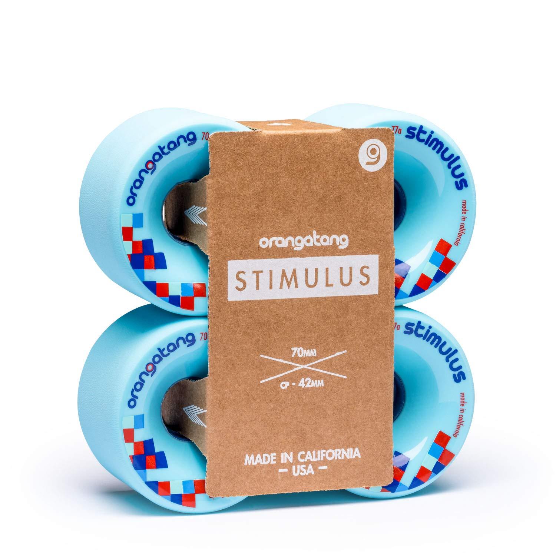 Roda Orangatang STIMULUS Azul 70mm 77a