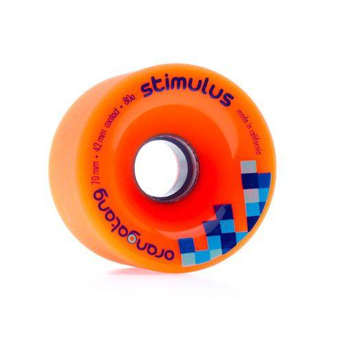 Roda Orangatang STIMULUS Laranja 70mm 80a