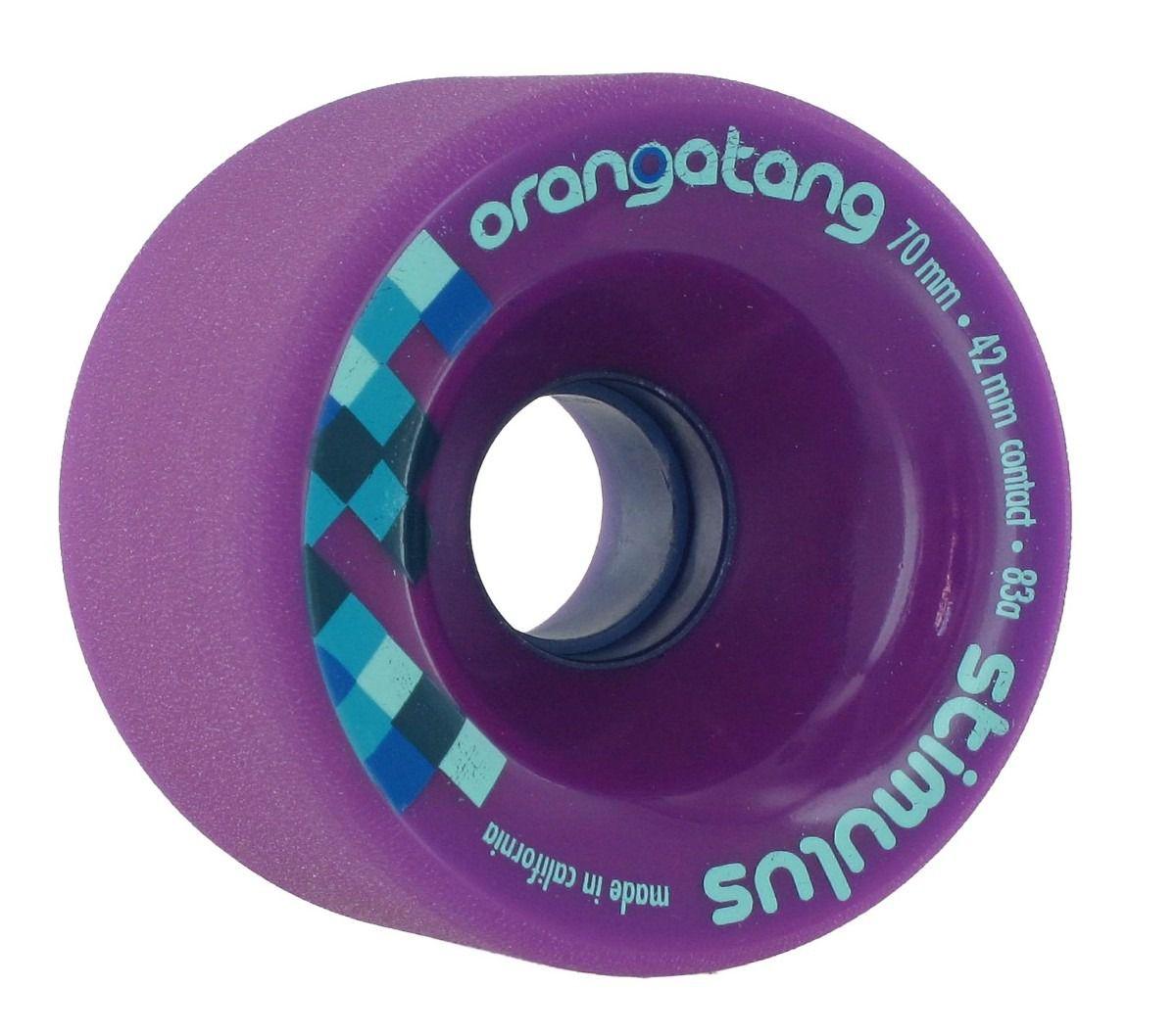 Roda Orangatang STIMULUS Roxa 70mm 83a