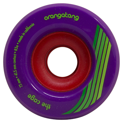 Roda Orangatang THE CAGE Roxa 73mm 83a