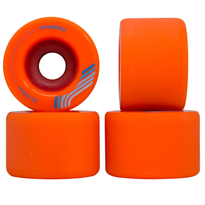 Roda Orangatang THE KILMER Laranja 69mm 80a