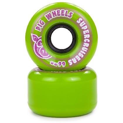 Roda Pig Supercruisers Green 85a 66mm