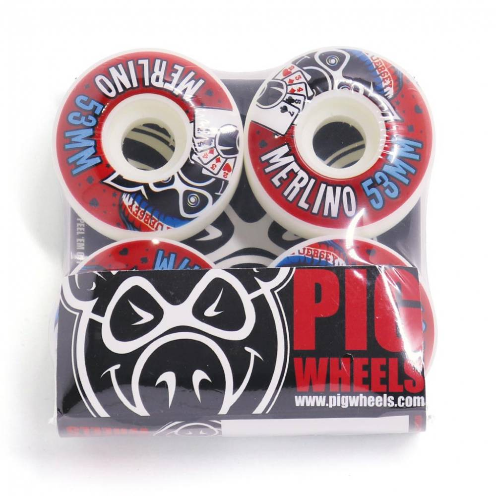 Roda Pig Vice Merlino 53mm
