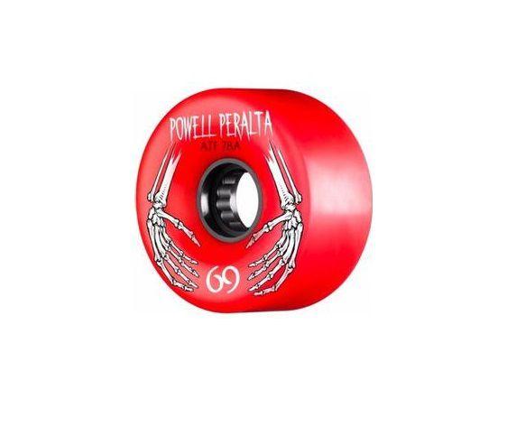 Roda Powell Peralta All Terrain 69mm 78a Vermelha