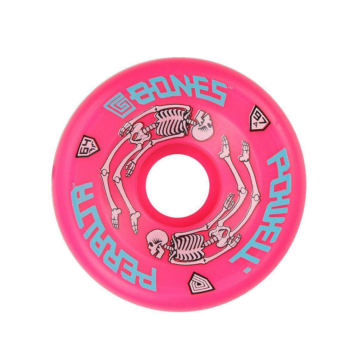 Roda Powell Peralta G Bones Pink 64mm 97a