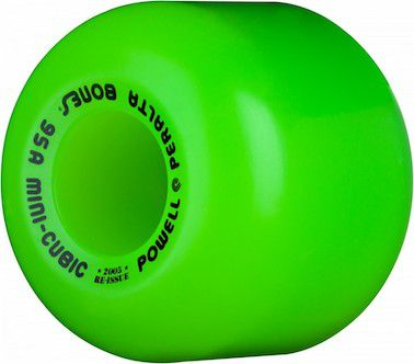 Roda Powell Peralta Mini Cubic Verde 64mm 95a