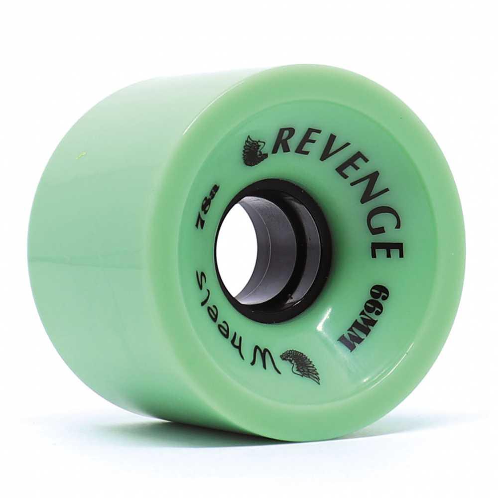 Roda Revenge Longboard Speed 78a Verde 66mm