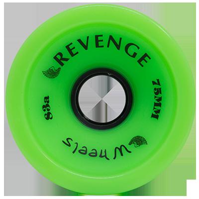 Roda Revenge Longboard Speed 83a Verde 75mm