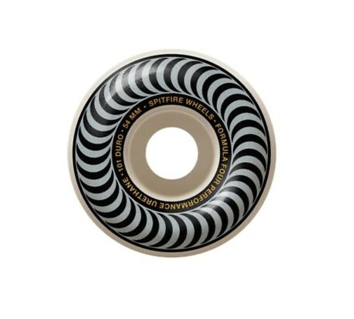 Roda Spitfire Formula Four Classic Silver 54mm