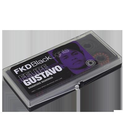 Rolamento FKD ABEC 7 Black Lights Pro Felipe Gustavo