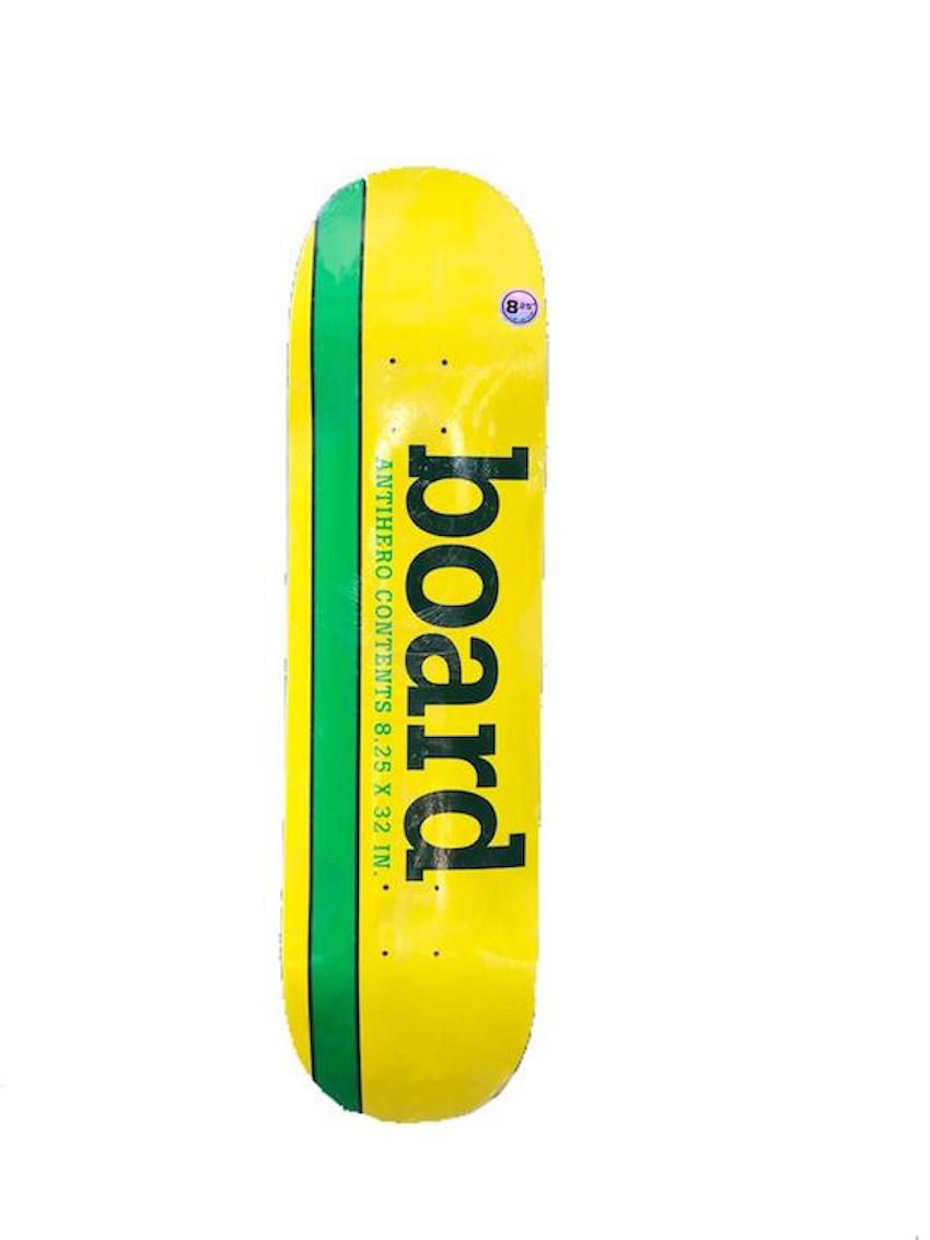 Shape Antihero Generic Yellow Board Lite 8.25