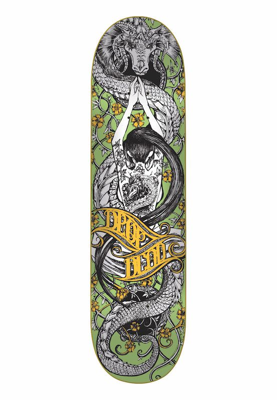 Shape Drop Dead Marfim Oriental Dragon 8.5