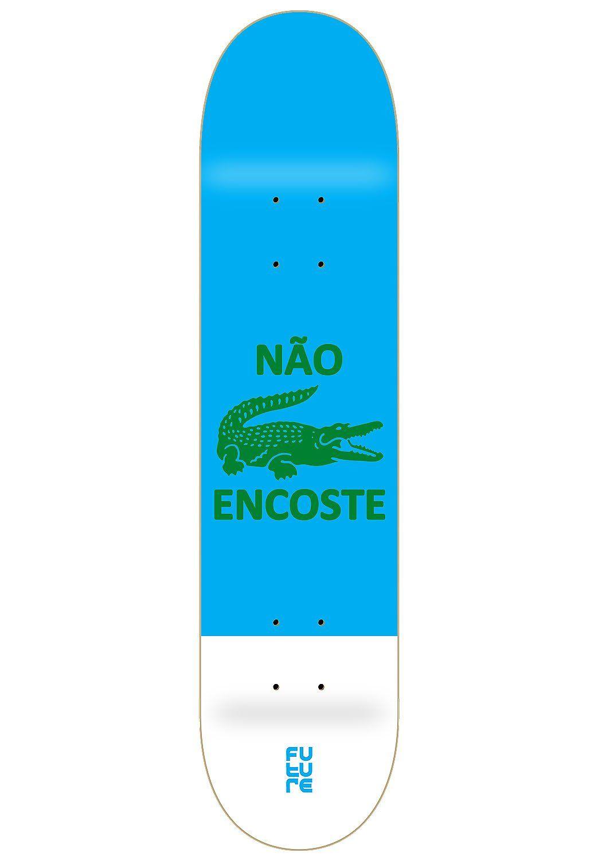 Shape Future Marfim Não Encoste Azul 8.0