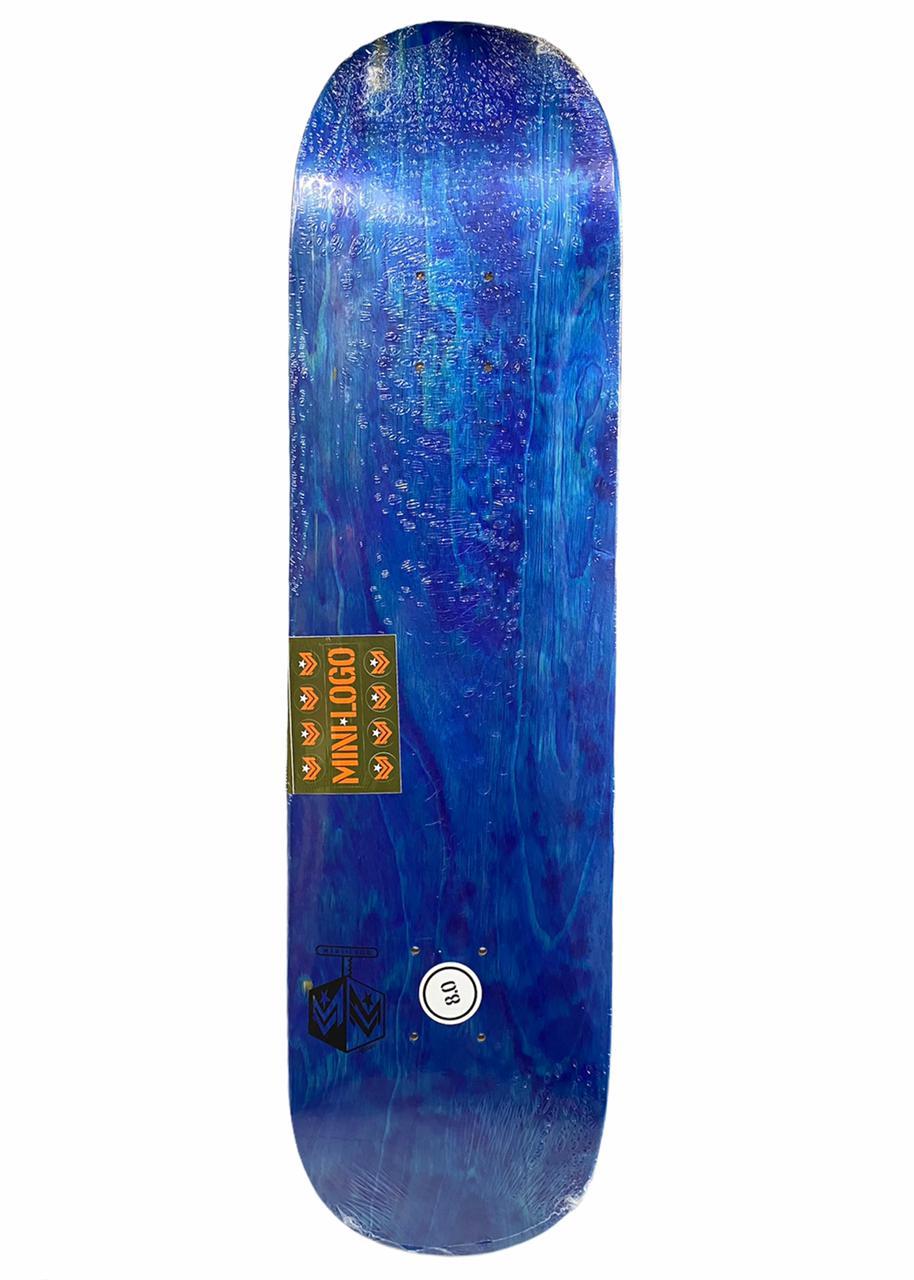 Shape Minilogo Maple Detonator Blue 8.0