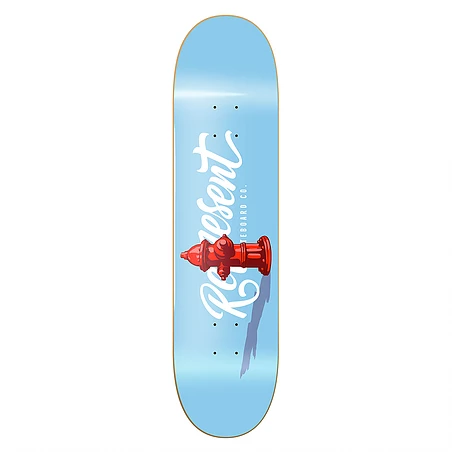 Shape Represent MAPLE Hidrante Azul 8.125