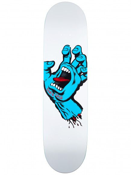 Shape Santa Cruz Maple Screaming Hand Branco 8.0