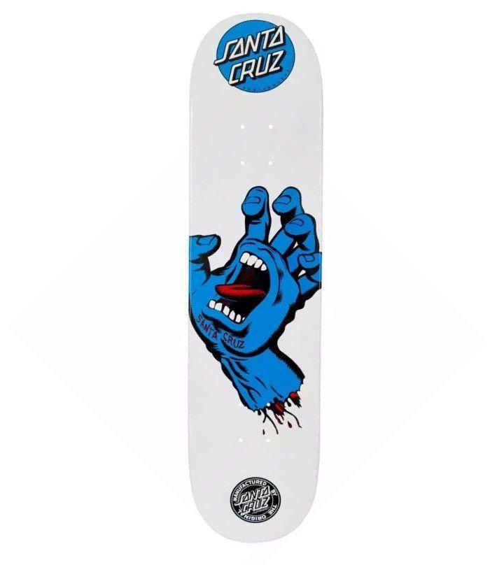Shape Santa Cruz NK2 Powerlyte Screaming Hand 7.9