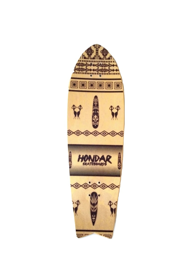 Shape Simulador Surf Hondar Maple 10x33.5 Cocar