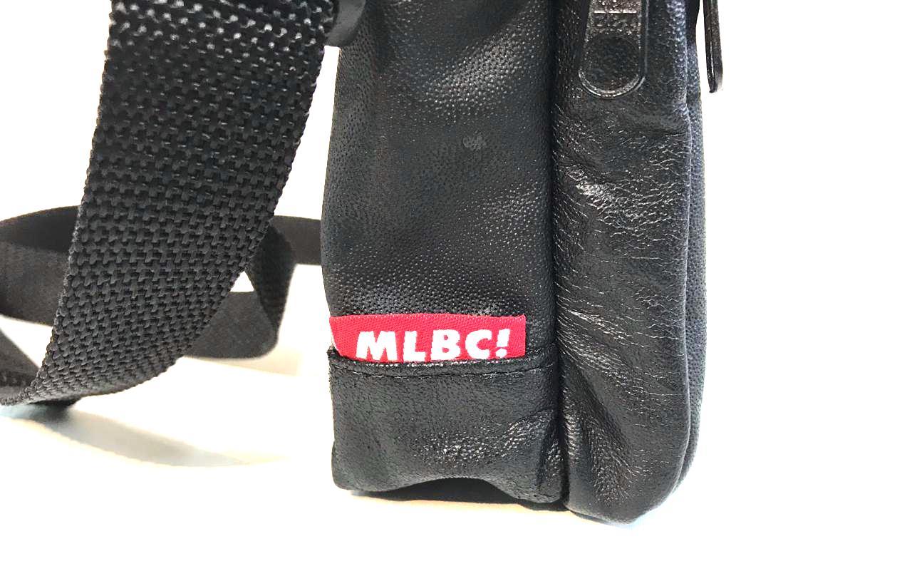 Shoulder Bag Malbec Skateboards Couro Preta