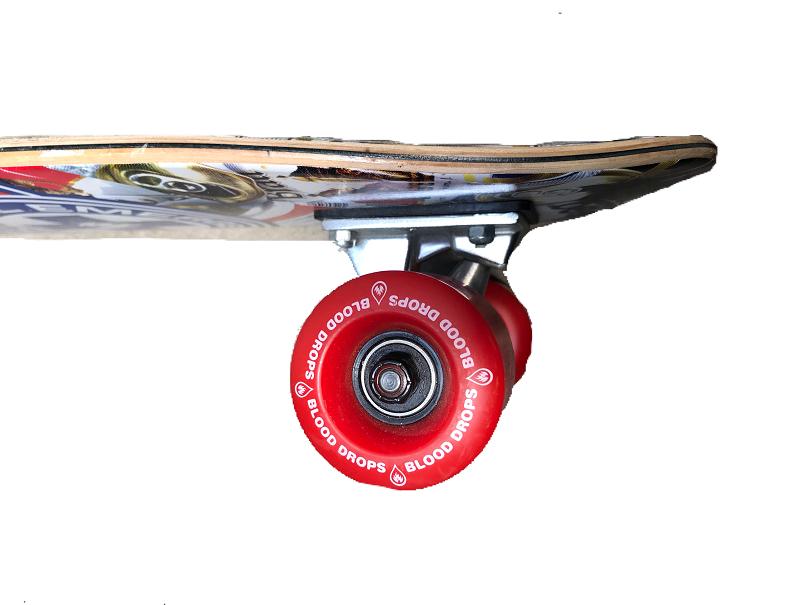 """Skate Cruiser Maple Black Label Beer 7.75 X 27"""""""