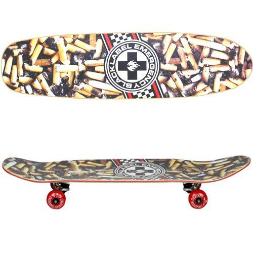 """Skate Cruiser Maple Black Label Stick Ripper 8.0 X 30.75"""""""