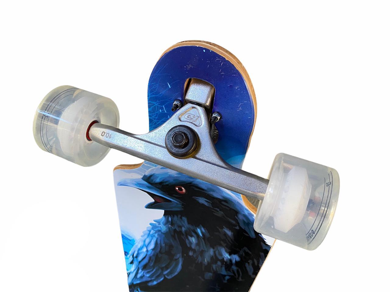 Skate Longboard Completo Hondar Corvo 38'' Rebaixado