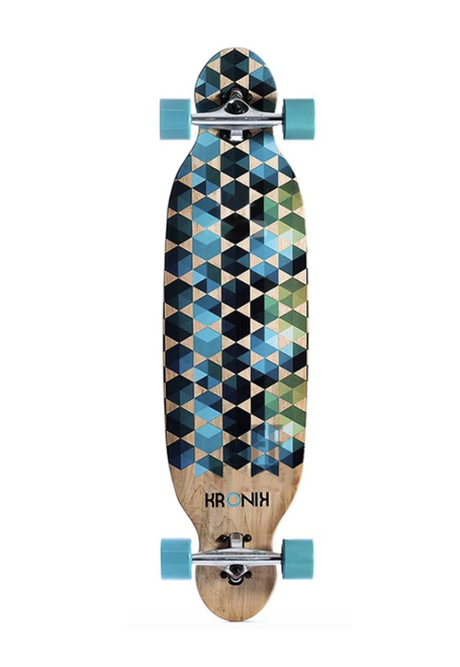 Skate Longboard Kronik Speed 38' Completo Graphic
