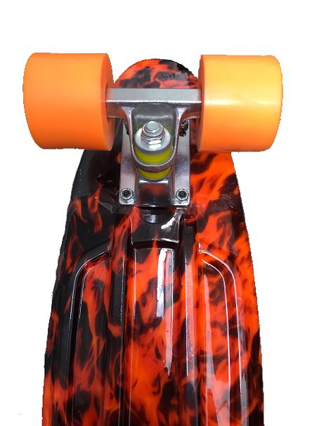 """Skate Mini Cruiser Revenge Fogo 5,5 X 21"""""""