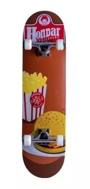 Skate Street Completo Hondar Burger 8.0