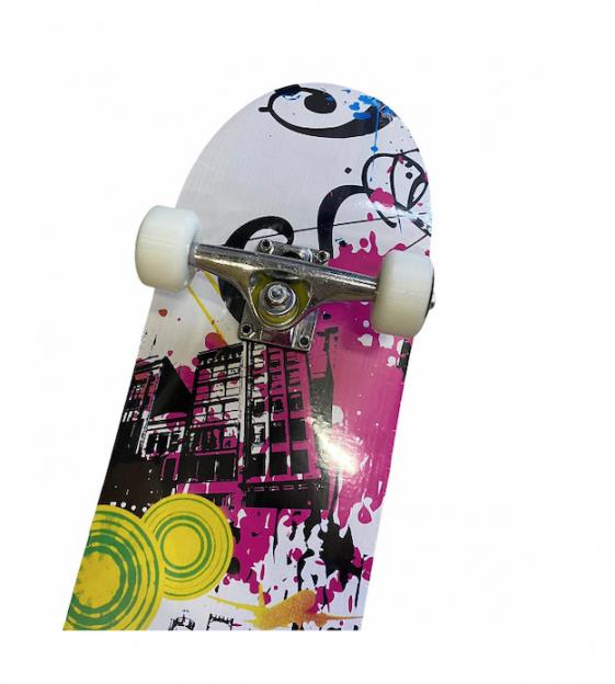 Skate Street Completo Infantil Abstract Colors