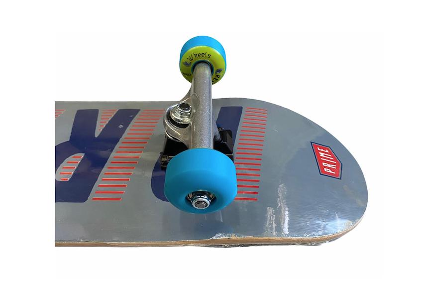 Skate Street Completo Iniciante 8.0 Prime Cinza