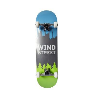 Skate Street Completo p/ Criança Wind City 8.0