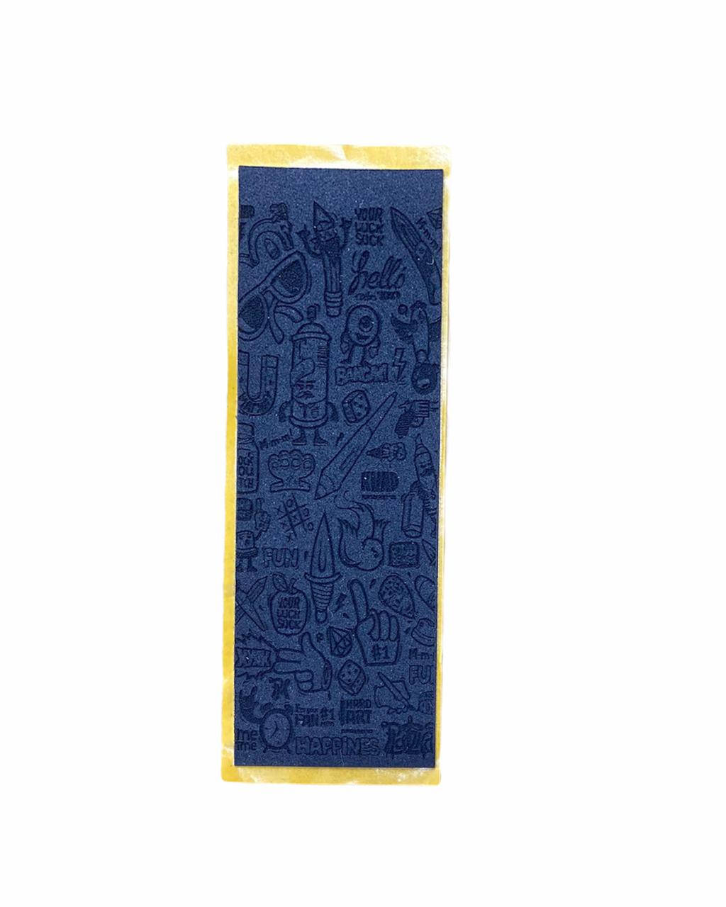 Tape Uncut Fingerboard AVULSA (01 unidade) PRO Engraved Collage - (FRETE CARTA INCLUIDO)
