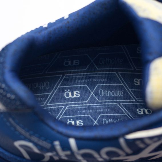 Tênis ÖUS Phibo Pro Quartzo OrthoLite Azul