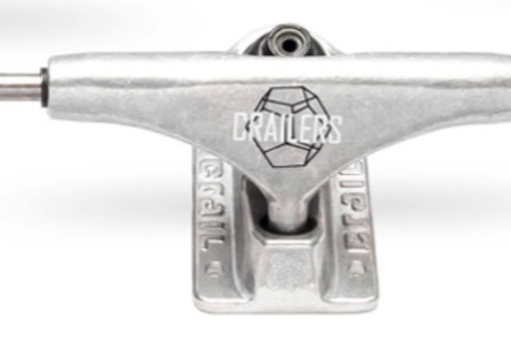 Truck Crail Crailers 139mm Prata MID