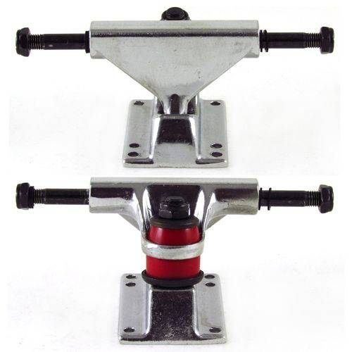 Truck Creme Mini Cruiser 81mm Prata