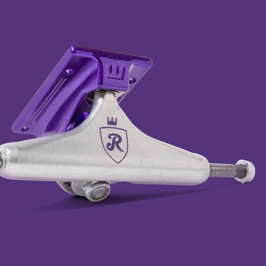 Truck Royal R Purple Prata/Roxo 139mm
