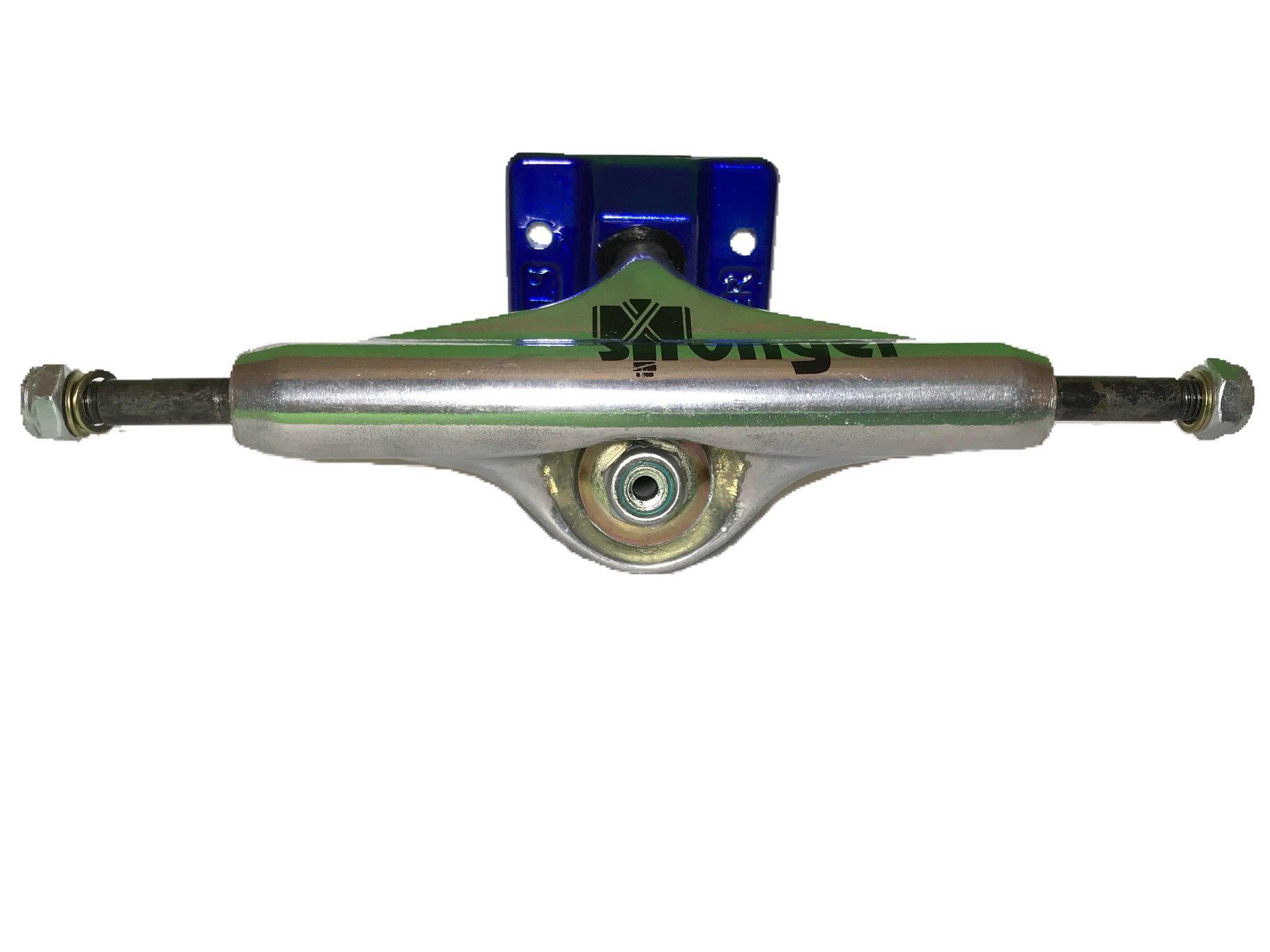 Truck Stronger 139mm Prata Azul