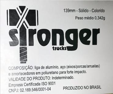 Truck Stronger 139mm Prata Preto