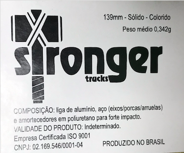 Truck Stronger 139mm Preto