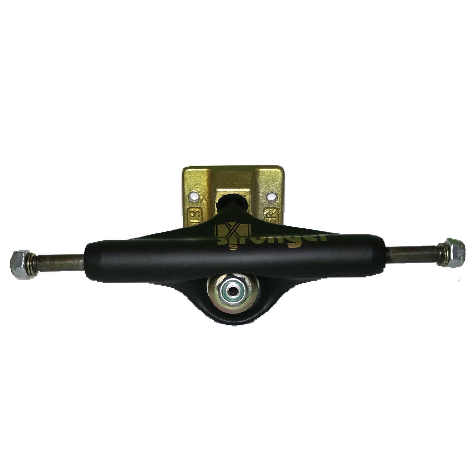 Truck Stronger 139mm Preto Dourado