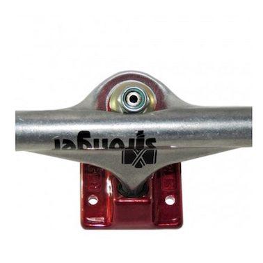 Truck Stronger 149mm Prata Vermelho