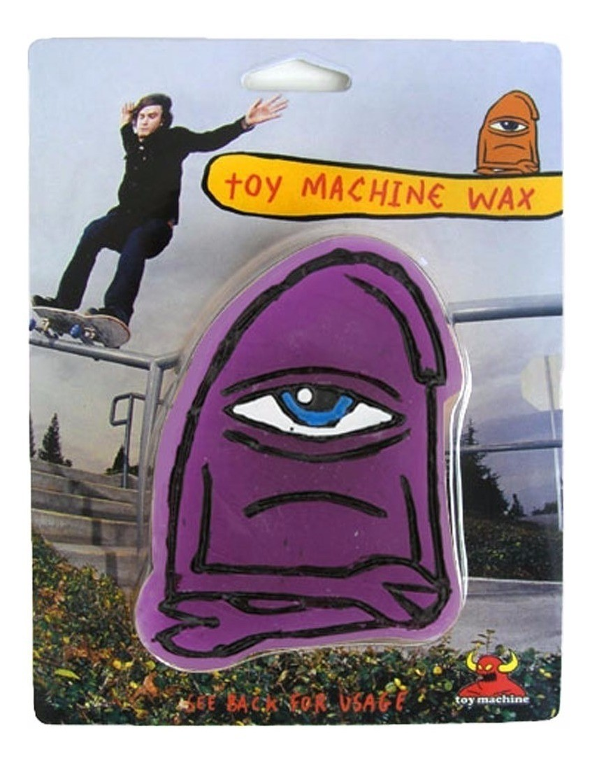Vela Toy Machine Purple Wax