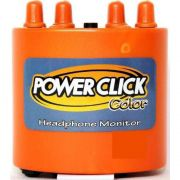 Amplificador De Fone De Ouvido Power Click Color Line Orange