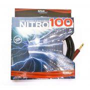Cabo de Guitarra Sparflex P10 Nitro Guitar 100 Plug Noiseless 3 metros