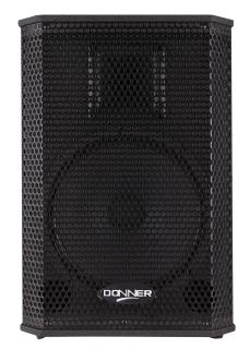 """Caixa Acústica Ativa 10"""" Donner Saga 200 Watts RMS SAGA10A"""