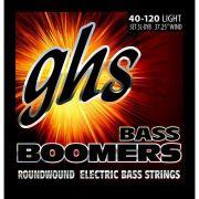 Encordoamento Contrabaixo GHS Bass Boomer 040 5LDYB