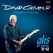Encordoamento Guitarra 6 Cordas GHS 010 Signature David Gilmour GBDGF